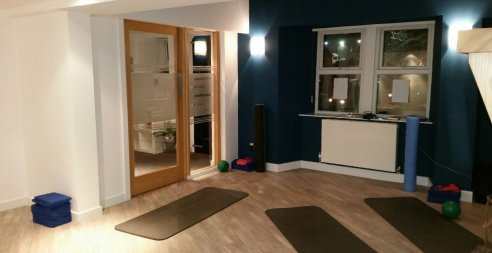 The studio provides a calming, peaceful environment and is equipped with highly respected Balanced Body Pilates Reformers, Pilates Arcs and ballet barre in addition to all smaller equipment required for classes and personal sessions.